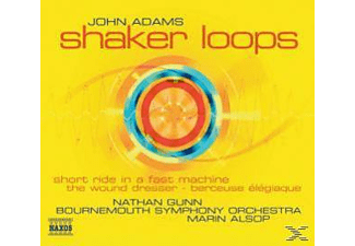 Nathan Gunn, Alsop/Gunn/Bournemouth SO - Shaker Loops/Short Ride/+ - (CD)