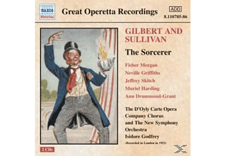 Godfrey, D'oyly Carte Opera, Godfrey & D'oyly Carte Opera - The Sorcerer - (CD)