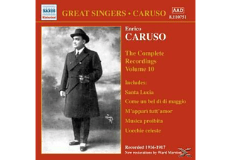 Enrico Caruso - Complete Recordings Vol.10 - (CD)