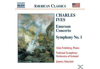 Sinclair, Feinberg, Nso Of Ireland, Feinberg/Sinclair/NSO Of Ireland - Emerson Concerto/Sinf.1 - (CD)