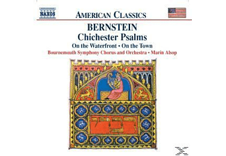 VARIOUS, Marin Bournemouth Symphony Orchestra & Alsop - Chichester Psalms - (CD)