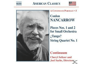 Continuum - Nancarrow: Pieces For Small Orchestra / Tango? / String Quartet No. 1 - (CD)