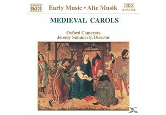 VARIOUS, Jeremy/oxford Camerata Summerly - Medieval Carols - (CD)