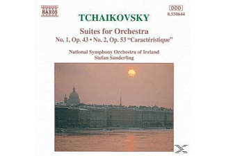 National Symphony Orchestra Of Ireland, Stefan/nsoi Sanderling - Suiten 1+2 - (CD)