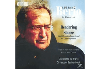 Christoph Eschenbach - Rendering/Stanze - (CD)