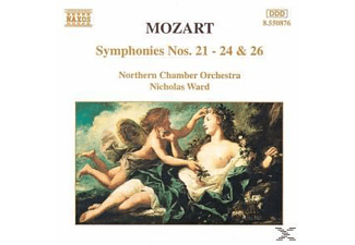 Northern Chamber Orchestra, Nicholas Northern Chamber Orchestra & Ward - Sinfonien 21+22+23+24+26 - (CD)