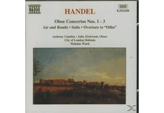 Anthony Camden, Camden/Girdwood/Ward/+ - Oboenkonzerte 1-3/+ - (CD)