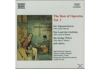 Hungarian Operetta Orchestra, Kertesi/Csonka/Berkes/+ - Best Of Operetta Vol.1 - (CD)