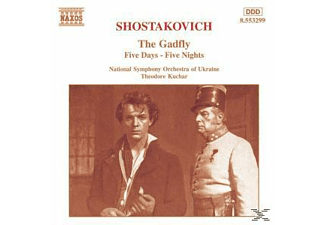 Theodore Kuchar, Ukso, Theodore/ukso Kuchar - The Gadfly/Five Days And Five - (CD)