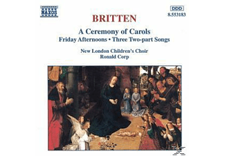 Corp/New London Children's Choir - A Ceremony Of Carols/+ - (CD)