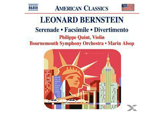 VARIOUS, Alsop/Quint/Bournemouth SO - Serenade/Facsimile/Divertiment - (CD)