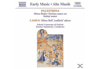 SUMMERLY & SCHOLA CANT.OF OXFORD - Missa Hodie Christus Natus Est - (CD)