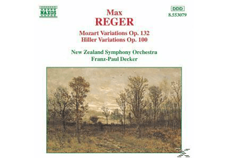 Franz-paul New Zealand Symphony Orchestra & Decker, Franz-paul/nzso Decker - Variat.Und Fuge op.132/+ - (CD)