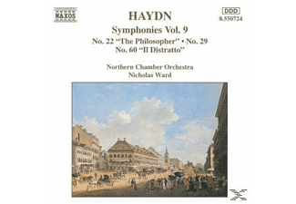 Northern Chamber Orchestra, Nicholas Northern Chamber Orchestra & Ward - Sinfonien 22+29+60 - (CD)
