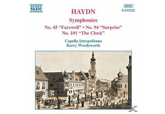 Capella Istropolitana, Barry/cib Wordsworth - Sinfonien 45+94+101 - (CD)