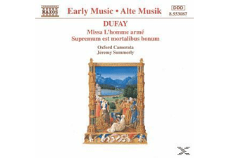 Oxford Camerata, Jeremy/oxford Camerata Summerly - Missa L'Homme Arme/+ - (CD)