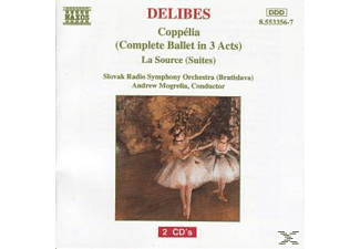 VARIOUS, Mogrelia/Slowak.RSO - Coppelia/La Source Suites 2+3 - (CD)
