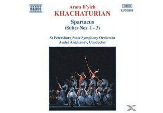 VARIOUS, ANICHANOV & STAATSSO ST.PETERSB. - Spartacus-Suite 1+2+3 - (CD)