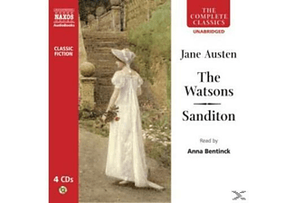 THE WATSONS/SANDITON - 4 CD -