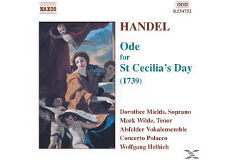 VARIOUS, Helbich/Alsfelder Vokalensemble - Ode For St.Cecilia's Day - (CD)