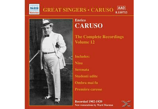 Enrico Caruso - Complete Recordings Vol.12 - (CD)