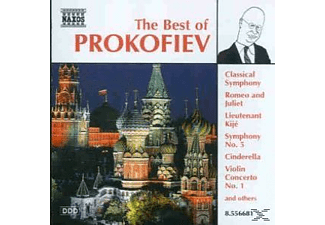 VARIOUS - Best Of Prokofiev - (CD)