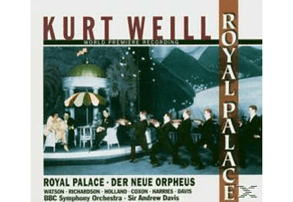 HARRIES, DAVIS, ., BBC SINGERS & SY - Royal Palace.Der Neue Orpheus - (CD)