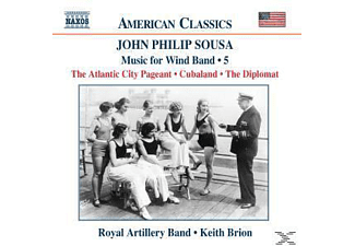 Keith Royal Artillery Band & Brion, Keith/royal Artillery Ba Brion - Music For Wind Band Vol.5 - (CD)