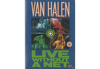 Edward Van Halen, Alex Van Halen, Michael Anthony, Sammy Hagar - LIVE WITHOUT A NET [DVD]