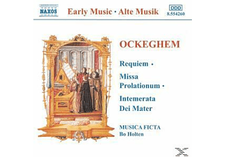 VARIOUS, Bo/musica Ficta Holten - Requiem/Missa Prolationum/+ - (CD)