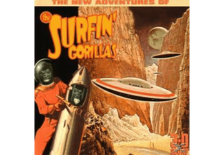The Surfin' Gorillas - The New Adventures Of (Reissue) [CD]