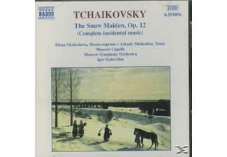Moscow Capella, Okolischewa/Mischenkin/MOSO/+ - The Snow Maiden op.12 - (CD)