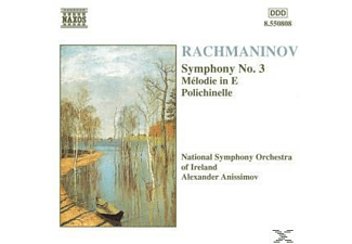 Nationa Symphony Orchestra Of Ireland, Alexander/nsoi Anissimov - Sinfonie 3/Melodie In E/+ - (CD)