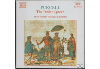 Scholars Baroque Ens, The Scholars Baroque Ensemble - The Indian Queen - (CD)