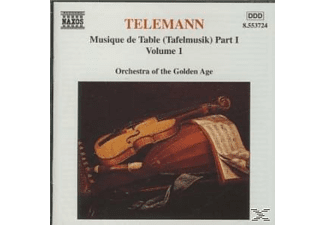 Orchestra Of Golden Age - Tafelmusik Teil 1 Vol.1 - (CD)