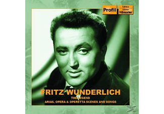 Fritz Wunderlich - The Legend - (CD)