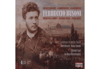 Rso-berlin - Busoni: Orchestral, Chamber and Piano Music - (CD)