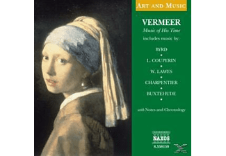VARIOUS - Vermeer-Music Of His Time - (CD)
