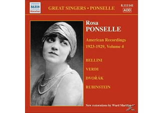 VARIOUS, Rosa Ponselle - American Recordings Vol.4 - (CD)