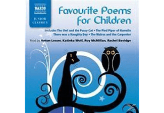 FAVOURITE POEMS FOR CHILDREN - 1 CD - Kinder/Jugend