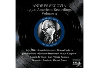 Andrés Segovia - 1950s American Recordings Vol.4 - (CD)