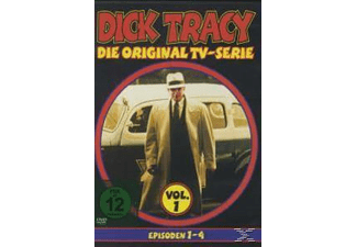 Dick Tracy Vol.1 Episode 1-4 - (DVD)