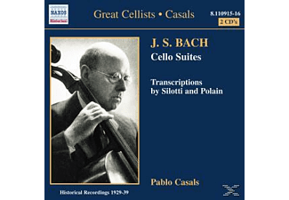 Casals Pablo - Cellosuiten - (CD)