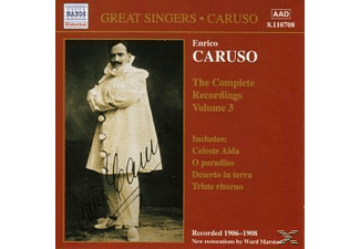 Enrico Caruso - Complete Recordings Vol.3 - (CD)