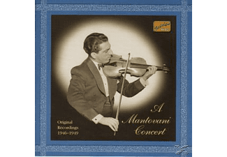 His Orchestra, Mantovani & His Orchestra - A Mantovani Concert - (CD)