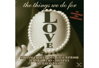 VARIOUS - The Things We Do For Love - (CD)