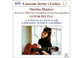 Martha Masters - Gitarrenrecital - (CD)