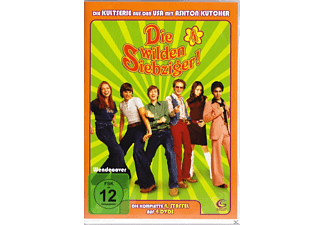 Die wilden Siebziger! - Staffel 4 (SCANAVO-4-X-Tra-Box) [DVD]