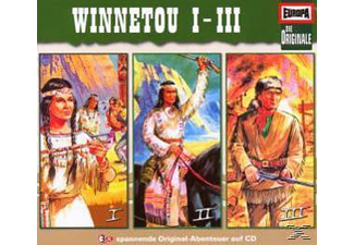 Die Originale - 3er Box Winnetou - (CD)