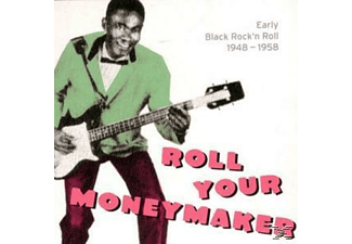 VARIOUS - Roll Your Moneymaker-Black Rock'n'roll 1948-1958 [CD]